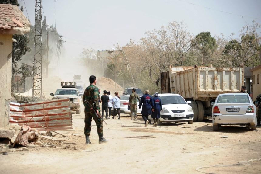 Au moins 37 morts dans la Ghouta orientale