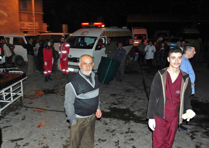 Syrie: une attaque au mortier fait 44 morts à Damas