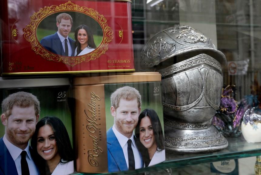 Mariage princier: le décompte est commencé