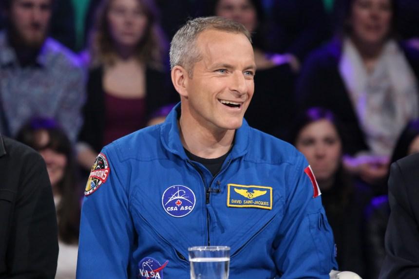 L'astronaute David Saint-Jacques a imaginé «les pires affaires» qui pouvaient lui arriver