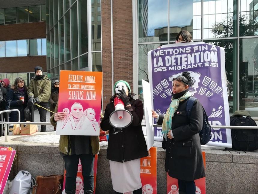 Une femme sans-papiers arrêtée à Montréal sera expulsée du Canada