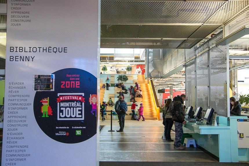 Dans quel arrondissement montréalais va-t-on le plus à la bibliothèque?