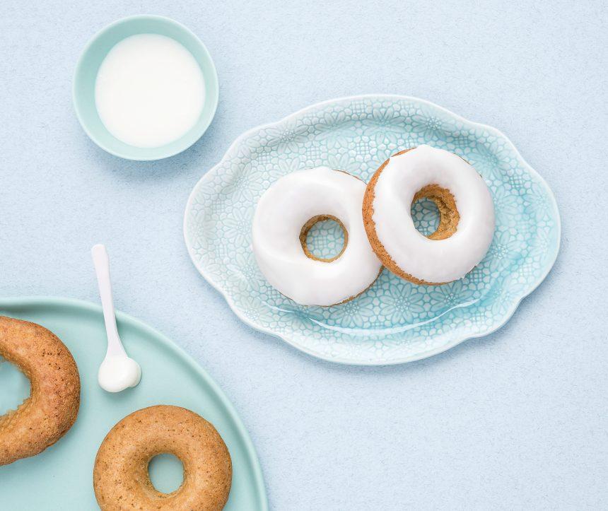 Beignets glacés à la vanille sans allergènes