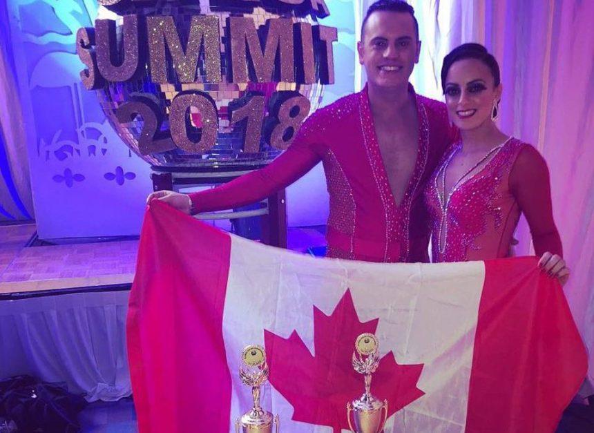 Un duo de danseurs prairivois champion du monde de salsa