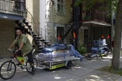 Des déménagements écolos à vélo