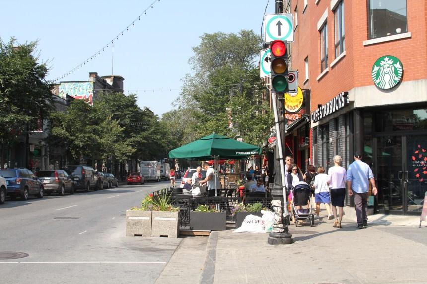 Les cafés-terrasses pourront être installés plus longtemps sur le Plateau