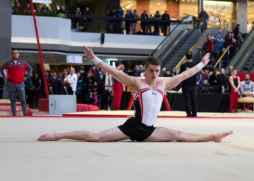 Des gymnastes du Québec concourent à Montréal