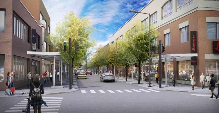 L'administration de Valérie Plante révise le projet de la Plaza Saint-Hubert