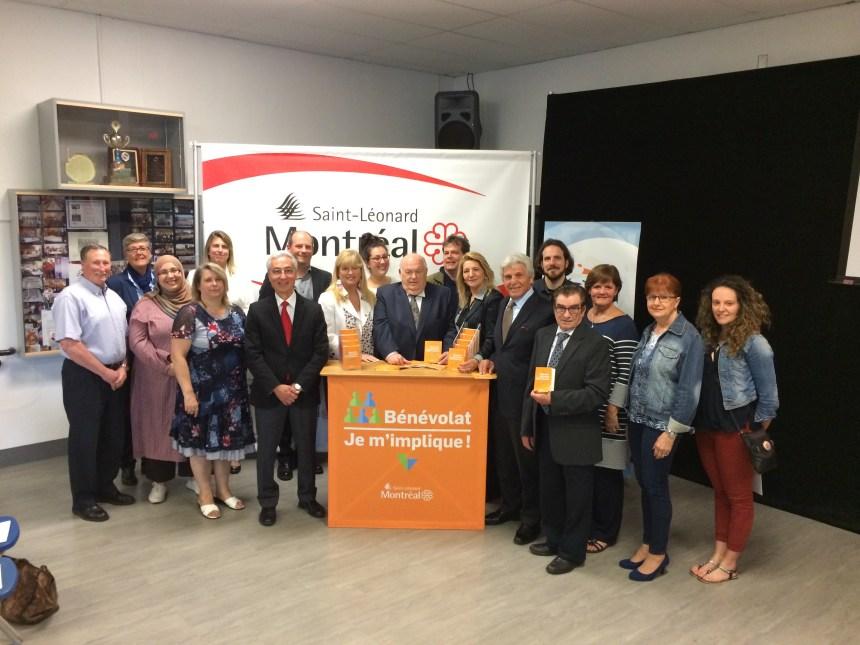 Programme de bénévolat: Saint-Léonard finaliste pour une troisième fois