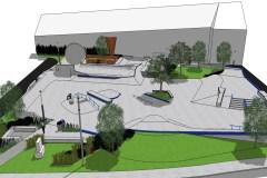 Un skatepark à Pointe-Claire