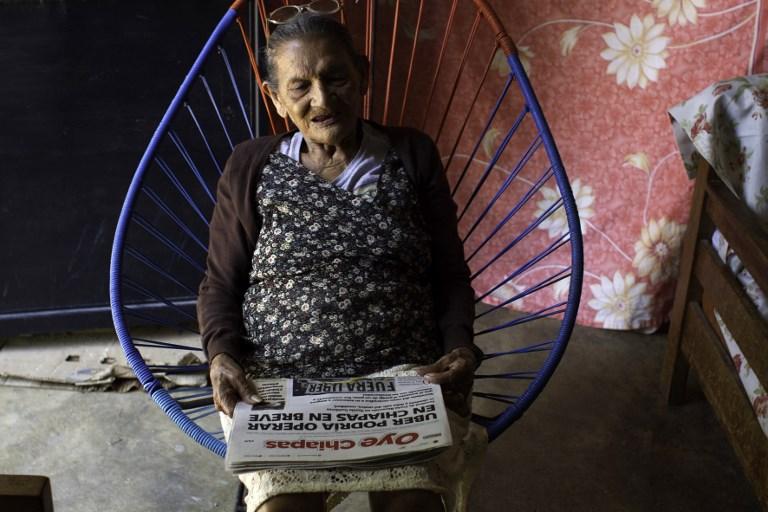 Une Mexicaine de 96 ans réalise son rêve: aller au lycée
