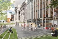 Les plans de la nouvelle bibliothèque Maisonneuve présentés