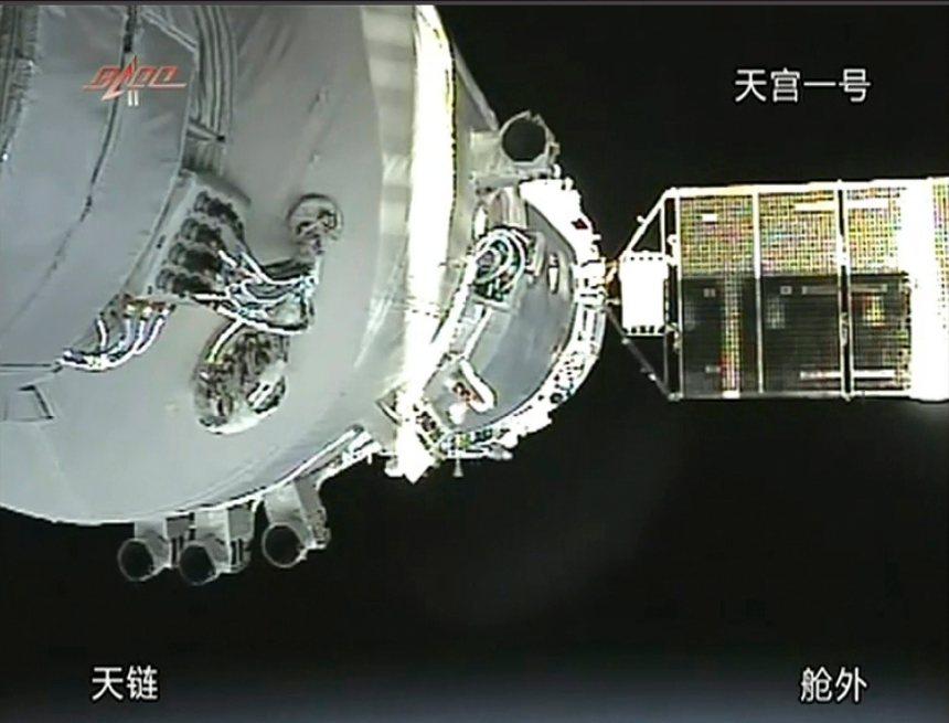 La station spatiale chinoise Tiangong-1 s'est désintégrée dans l'atmosphère