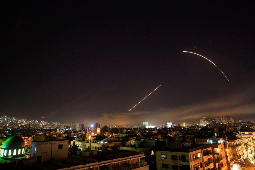 La Syrie sous des frappes américaines