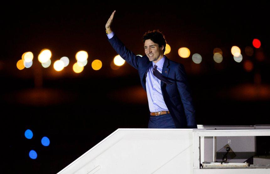 Trudeau s'envole pour Paris et Londres