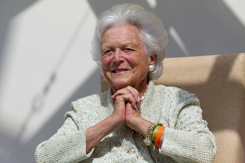 Barbara Bush, mère et femme de présidents, en soins palliatifs