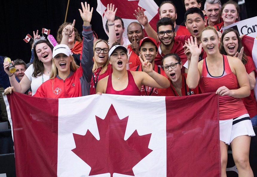 Fed Cup: Pari réussi pour Eugenie Bouchard