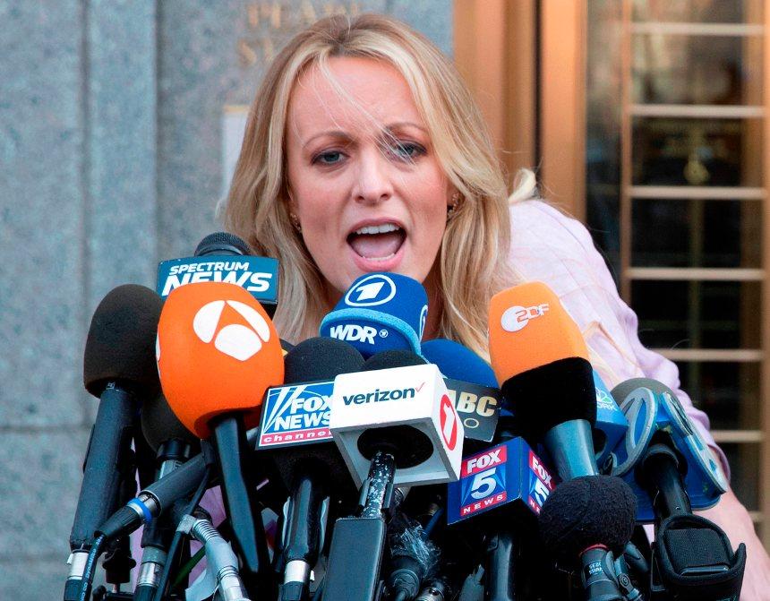 Stormy Daniels poursuit Trump en diffamation