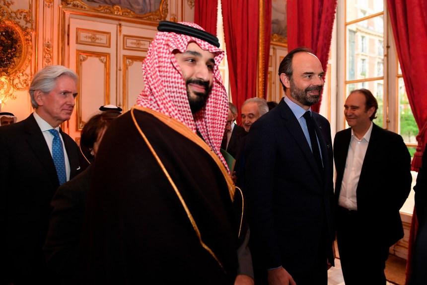 Visite du prince Salmane d'Arabie saoudite en France