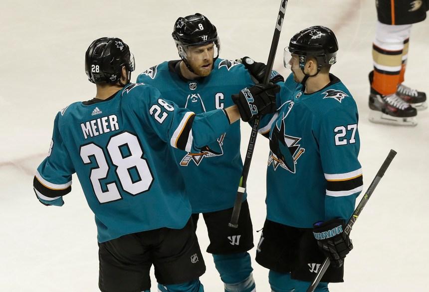 Les Sharks poussent les Ducks au bord du gouffre