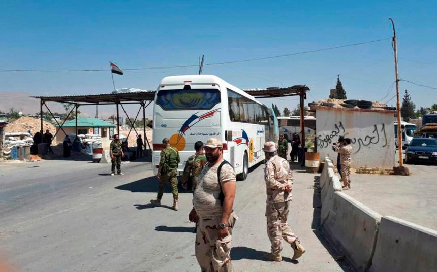 Syrie: les rebellent se replient