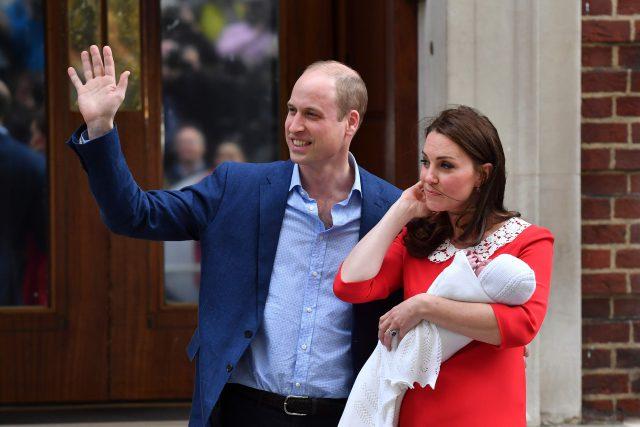 Le bébé royal a été nommé Louis Arthur Charles