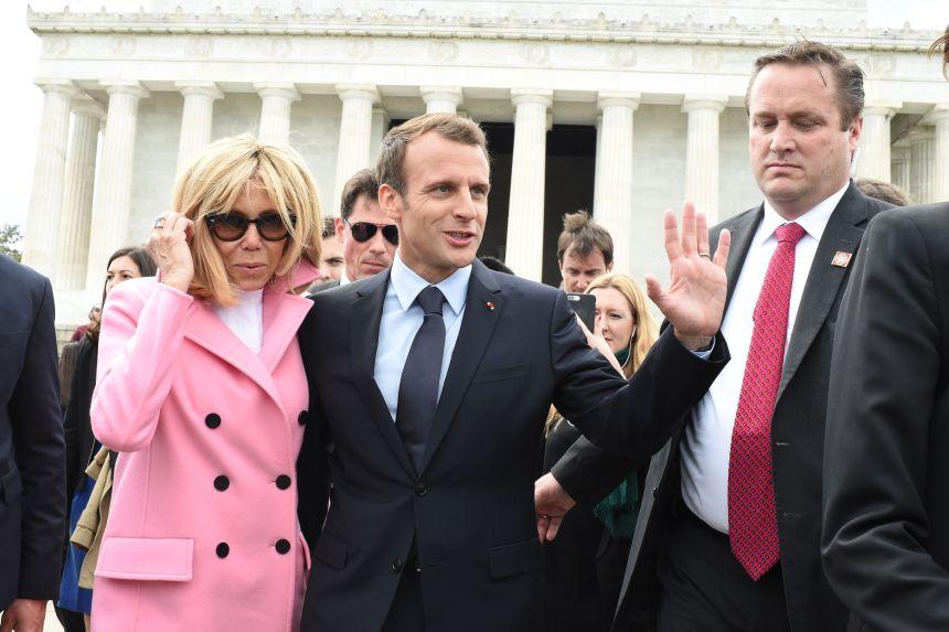 Macron arrive à Washington pour une visite d'État