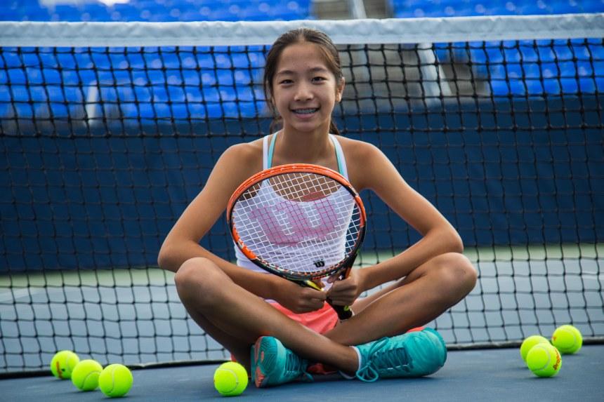 Annabelle Xu, étoile montante du tennis