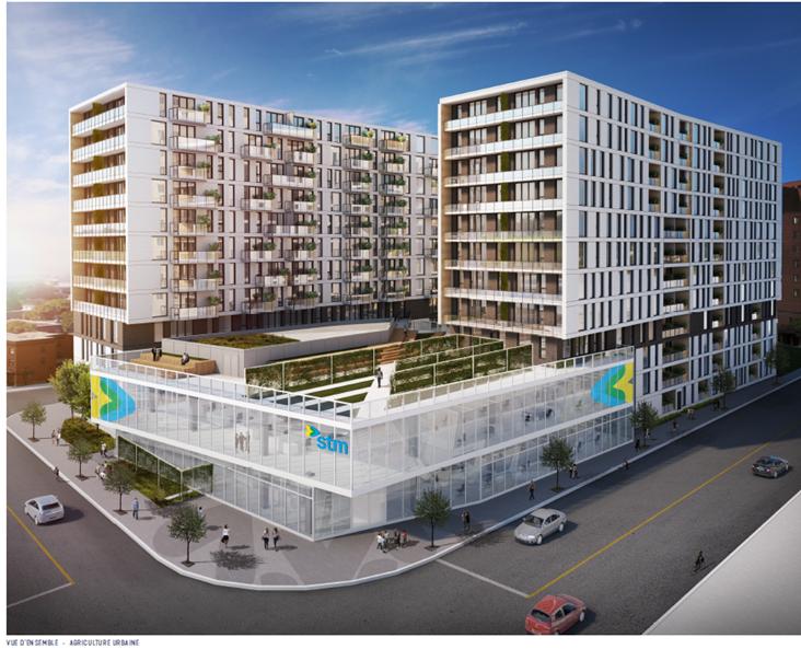 Un vaste projet immobilier naîtra près du métro Frontenac