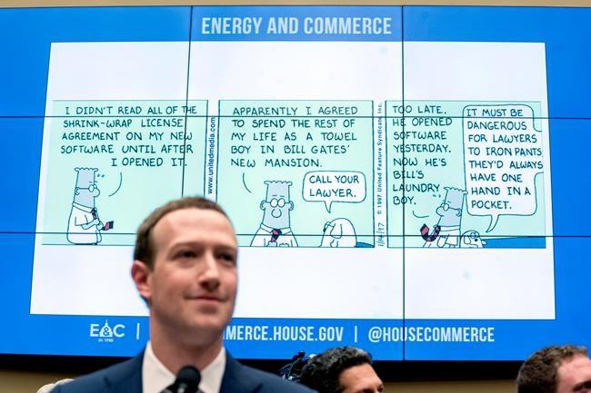 Une réglementation «inévitable», croit Zuckerberg
