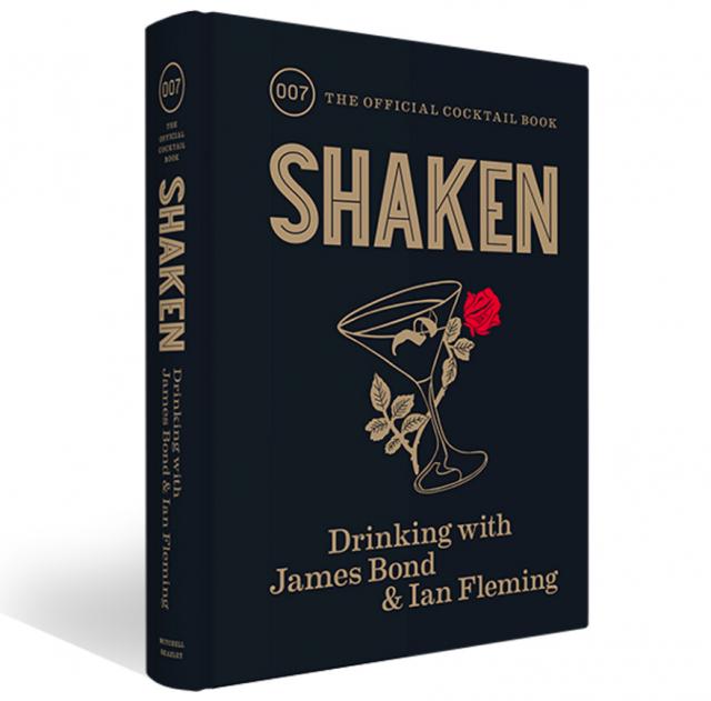 Le guide officiel des cocktails de James Bond publié en septembre