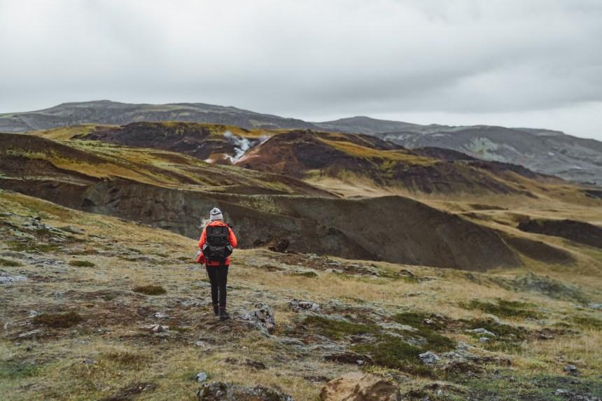 Payé pour parcourir l'Islande