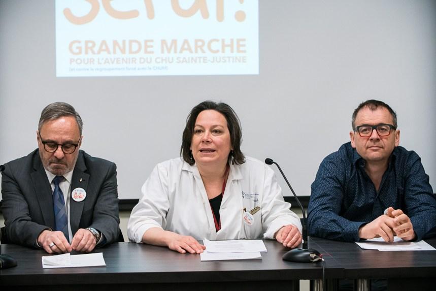 Les syndicats unis contre la fusion de Sainte-Justine avec le CHUM