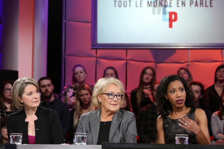 Pauline Marois à TLMEP: «Les femmes peuvent faire la différence en politique, c'est pour ça qu'on veut être là»