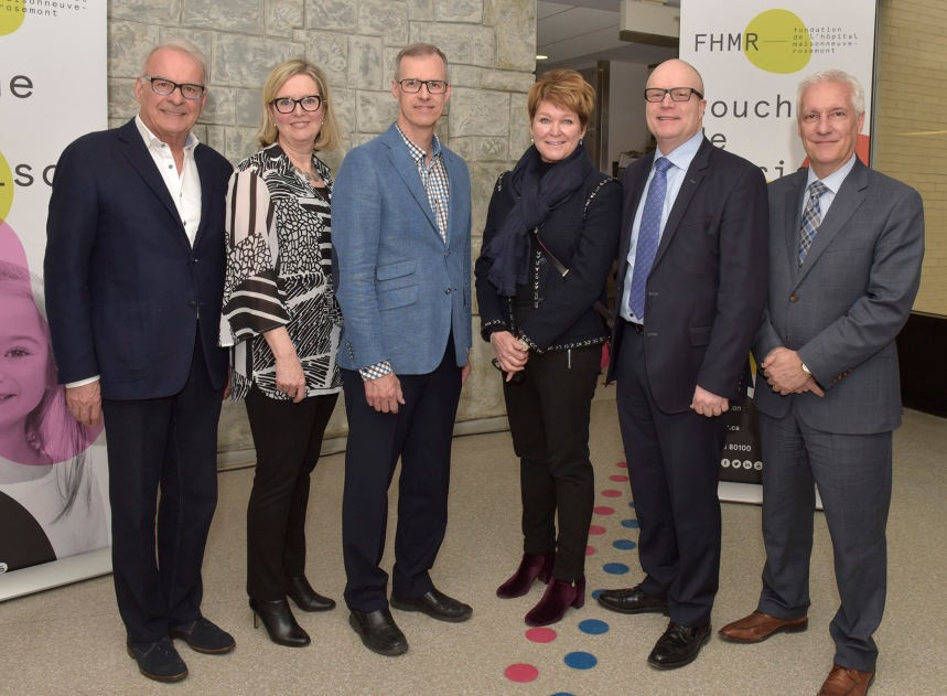 HMR: le centre de cancérologie sera nommé Sandra et Alain Bouchard
