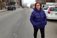 État de la chaussée: des travaux en profondeur demandés sur la rue Davidson