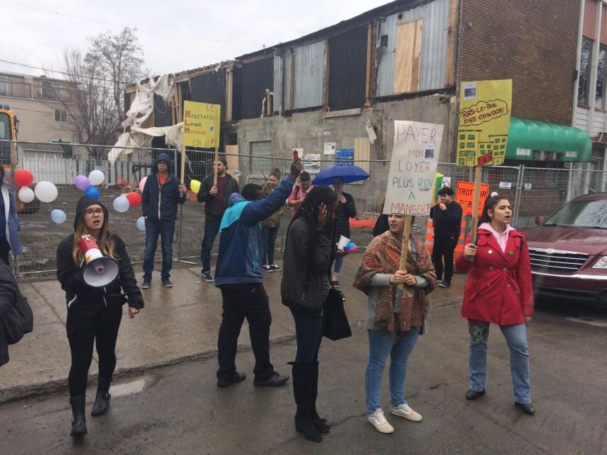 Campagne de mobilisation pour réclamer une réserve de terrains et bâtiments