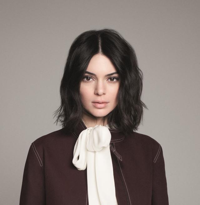 Kendall Jenner, nouveau visage Longchamp