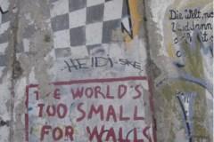 Le monde est trop petit pour des murs
