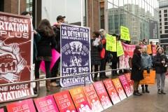 Un rassemblement pour demander la fin des déportations vers Haïti