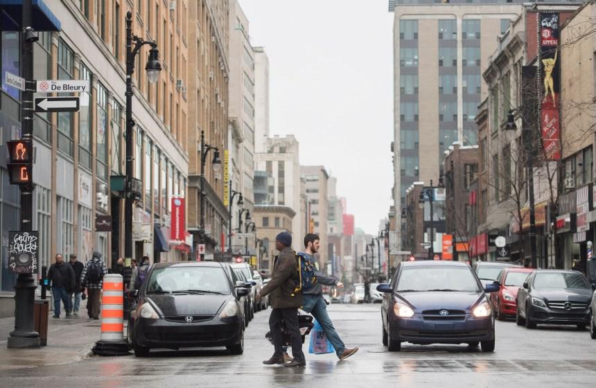 21 M$ pour réaménager un tronçon de la rue Sainte-Catherine