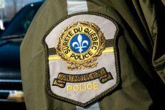 Brossard: poste de commandement de la SQ, jeudi, pour élucider un meurtre