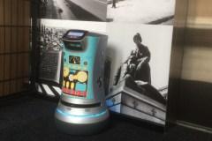 Un robot pour le service aux chambres dans un hôtel de Montréal