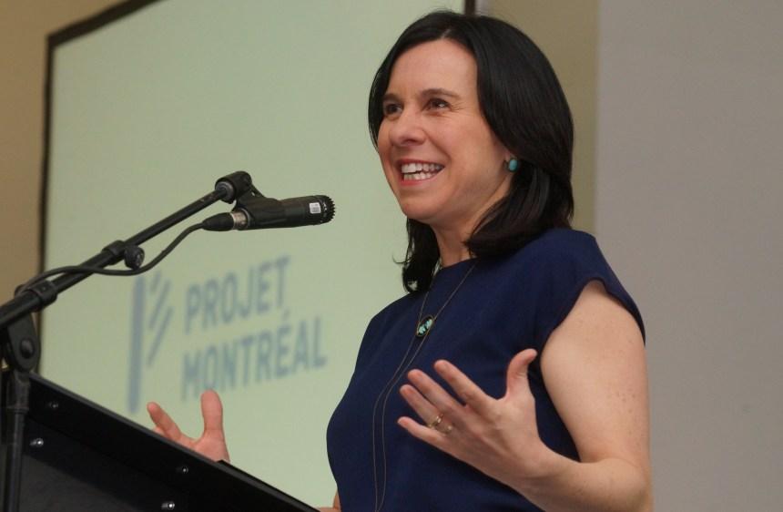 Valérie Plante pose ses priorités en vue des élections provinciales