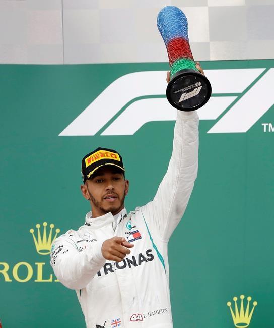Hamilton remporte le Grand Prix d'Azerbaïdjan
