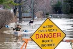 Québec: plusieurs avertissements de crue des eaux par la Sécurité publique