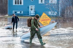 La situation se stabilise au Nouveau-Brunswick, mais de la pluie est attendue