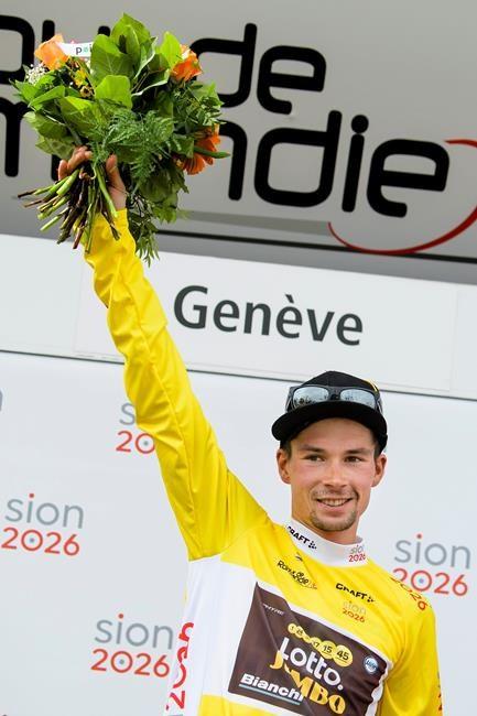 Roglic victorieux au Tour de Romandie