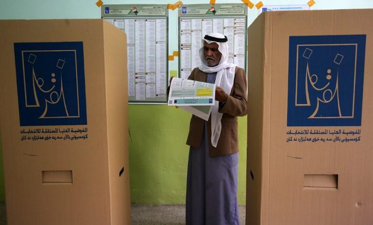 Faible taux de vote et irrégularités en Irak