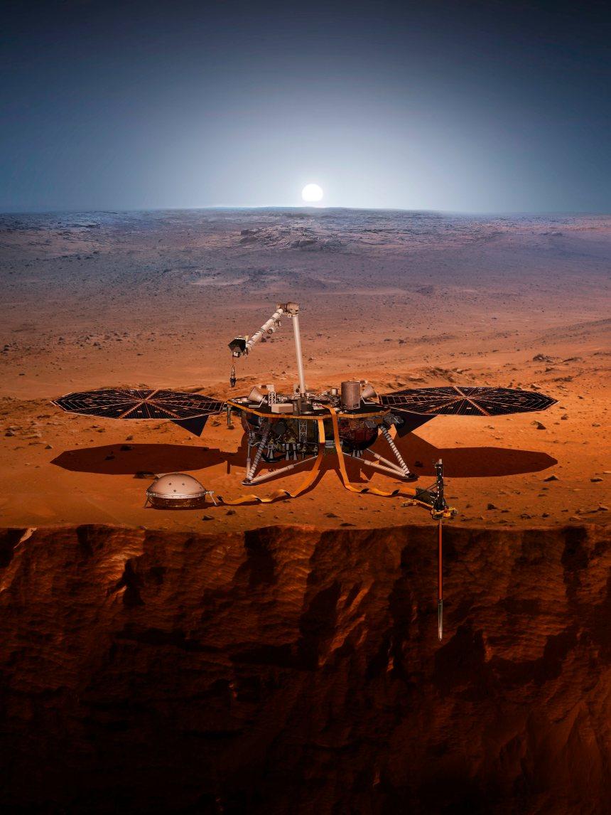 La NASA envoie un géologue robotisé sur Mars